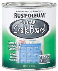 Sơn bảng đen trong suốt Clear Chalkboard